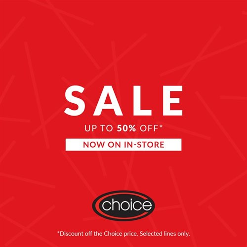 Choice Discount Summer Sale